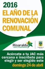 2016 el año de la renovación comunal
