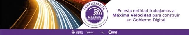 banner maxima velocidad