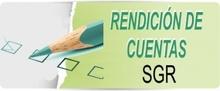 RENDICIÓN DE CUENTA SGR