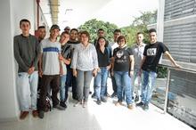 Inducción 85 estudiantes en Básicos de Ingeniería