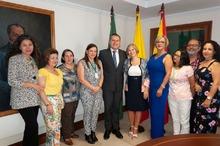 Reconocimiento a la saliente directora del ICBF María Consuelo Montoya Puerta