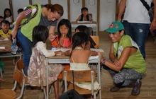 Visita al resguardo indígena de Pueblo Rico