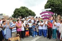 Gobernador entregó a una nueva zona wifi en Ciudadela Comfamiliar de Pereira
