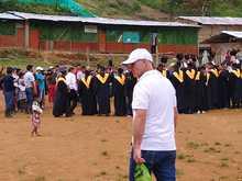 Grados comunidad indígena Kemberdé en Pueblo Rico
