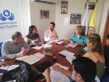 Mesa de seguimiento en Defensoría del Pueblo