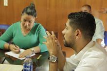 Reunión comunidad estudiantil Marsella