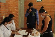 Entrega refrigerios escolares PAE en Apía
