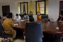 Comité de seguimiento obras megacolegios con el FFIE