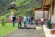 Visita residencia escolar La Inmaculada San Antonio del Chamí