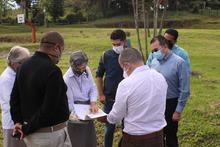 Recorrido director del Sena en el Veracruz de Santa Rosa