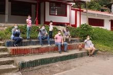 Entrega de mejoramiento locativo sede El Jardín de Apía