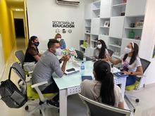 Visita a Secretaría de Educación de Barranquilla