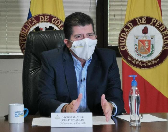"""Durante los primeros 6 meses de mi gobierno, Salvamos el San Jorge"""": Gobernador  Victor Manuel Tamayo"""