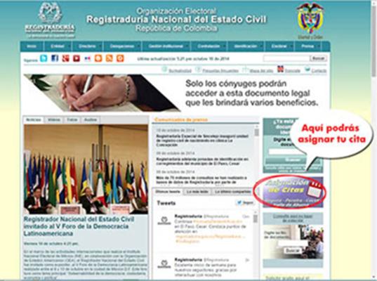 Registraduría Nacional y OEA firman acuerdo para fortalecer el sistema electoral colombiano
