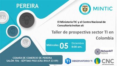 Taller de Prospectiva sector TI en Colombia